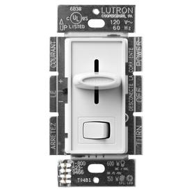 Lutron Skylark 3-Way White Slide Dimmer