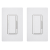 Lutron Maestro 1-Switch 150-Watt 3-Way 4-Way Double Pole White Indoor Tap Dimmer