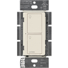Lutron Caseta Wireless 1-Switch 6-Amp Single Pole Light Almond Indoor Touch Light Switch