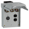 GE 3-Outlet 125-Amp Flush-Mount Power Outlet