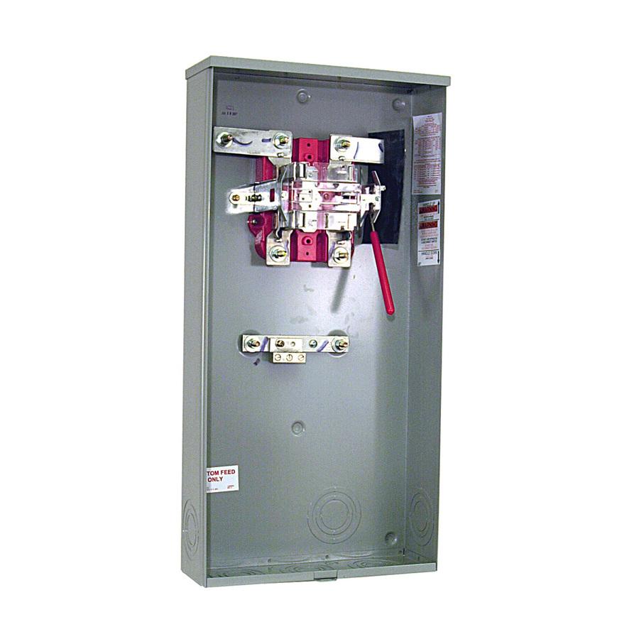 Outdoor Single Phase Meter Socket : Shop milbank amp ringless single phase  meter