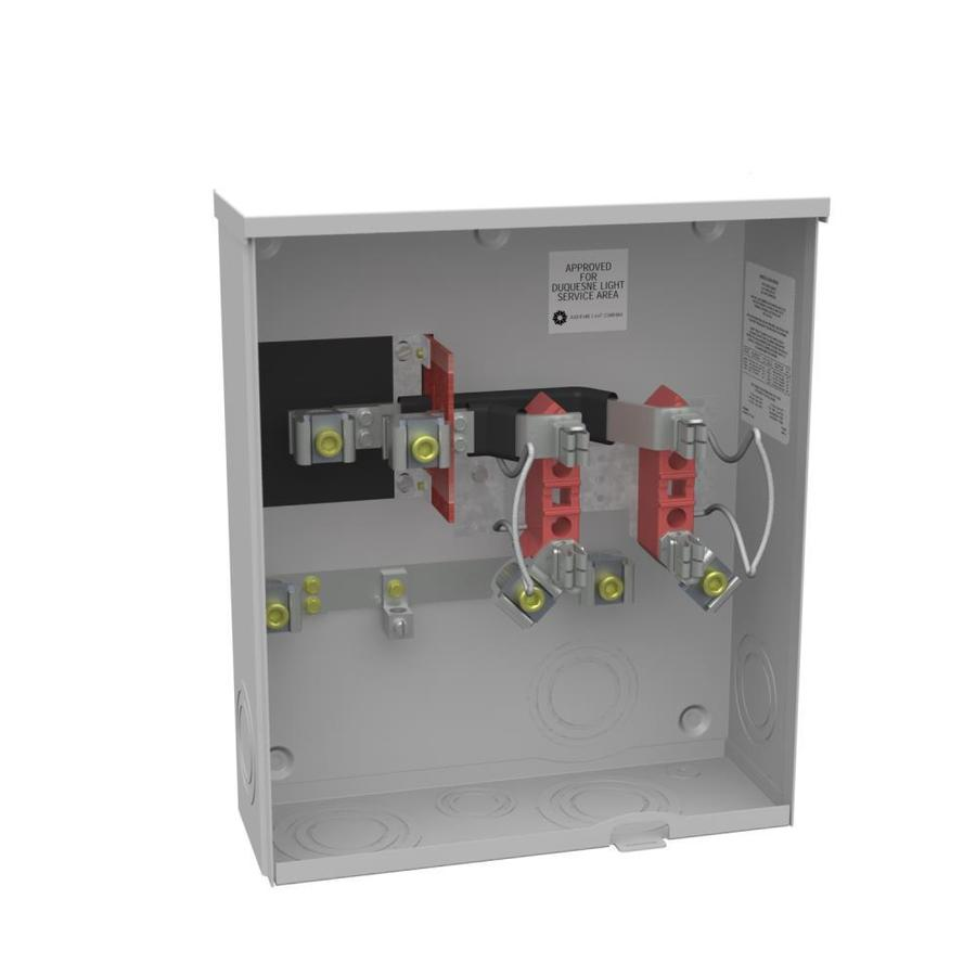200 amp service hookup These specifications are for meter loops rated 200 amps or less #6 minimum for up to a 150 amp service and #4 for a 200 amp service.