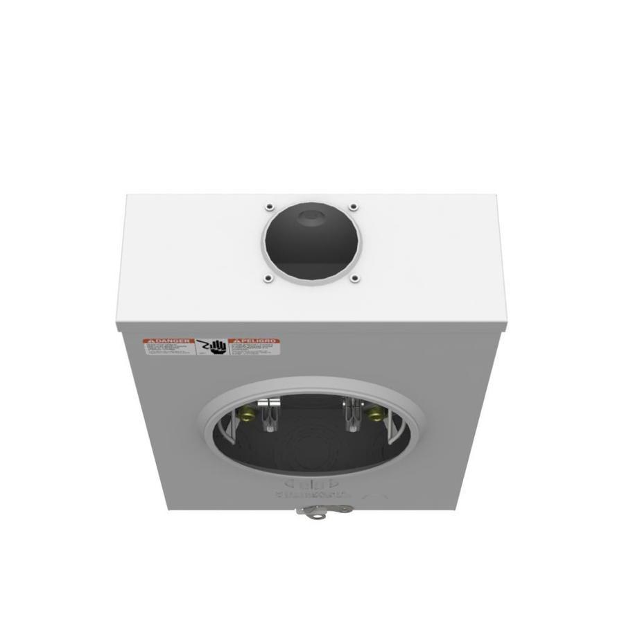 120//240 Milbank 200-Amp Ring less Single Phase Meter Socket R7040-RL-TG-KK-RGE