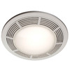 NuTone 0.8-Sone 100 CFM Polymeric White Bathroom Fan