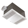 NuTone 4-Sone 70-CFM Polymeric White Bathroom Fan with Heater