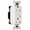 Pass & Seymour/Legrand 125-Volt 20-Amp White Decorator GFCI Electrical Outlet