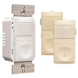 Pass & Seymour/Legrand 4-Piece Ivory Combination Occupancy Decorator Light Switches