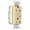 Pass & Seymour/Legrand 3-Pack 125-Volt 20-Amp Ivory Decorator GFCI Electrical Outlets