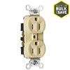 Pass & Seymour/Legrand 125-Volt 15-Amp Ivory Duplex Electrical Outlet