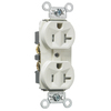 Pass & Seymour/Legrand 10-Pack 125-Volt 20-Amp Light Almond Duplex Electrical Outlets