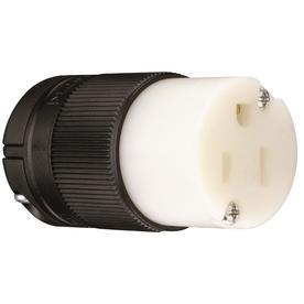 Pass & Seymour/Legrand 15-Amp 125-Volt Black/White 3-Wire Grounding
