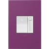 Legrand Adorne Paddle 1-Switch 700-Watt 3-Way Single Pole White Indoor Slide Dimmer