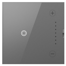 Legrand Adorne Touch 700-Watt Magnesium 3-Way Touch Dimmer