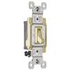 Pass & Seymour/Legrand 15-Amp Ivory Light Switch