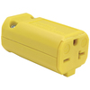 Legrand 20-Amp 250-Volt Yellow 2-Wire Polarized Connector