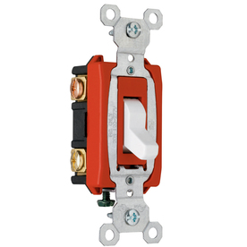 Pass & Seymour/Legrand 20-Amp White 3-Way Light Switch