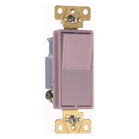 Pass & Seymour/Legrand 20-Amp Gray Decorator Light Switch