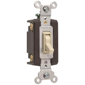 Pass & Seymour/Legrand 15-Amp Light Almond 4-Way Light Switch