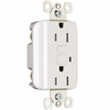 Pass & Seymour/Legrand 15-Amp 125-Volt White GFCI Decorator Outlet