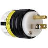 Pass & Seymour/Legrand 15-Amp 125-Volt Black 3-Wire Grounding Plug