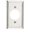 Pass & Seymour/Legrand 1-Gang Stainless Steel Standard Single Receptacle Stainless Steel Wall Plate