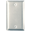 Pass & Seymour/Legrand 1-Gang Stainless Steel Blank Stainless Steel Wall Plate