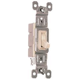 Pass & Seymour/Legrand Light Almond Light Switch