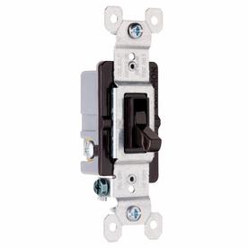 Pass & Seymour/Legrand 3-Way White Light Switch