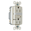 Pass & Seymour/Legrand 125-Volt 15-Amp Light Almond Decorator GFCI Electrical Outlet
