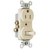 Pass & Seymour/Legrand 15-Amp 120/125-Volt Light Almond Indoor Duplex Wall Outlet