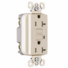 Pass & Seymour/Legrand 125-Volt 20-Amp Light Almond Decorator GFCI Electrical Outlet