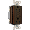 Pass & Seymour/Legrand 125-Volt 15-Amp Brown Decorator GFCI Electrical Outlet