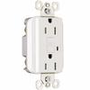 Pass & Seymour/Legrand 3-Pack 15-Amp 125-Volt White GFCI Decorator Outlet