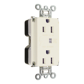 Legrand 15-Amp 125-Volt White Indoor Duplex Wall Outlet