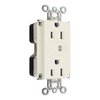Legrand 125-Volt 15-Amp White Single Electrical Outlet