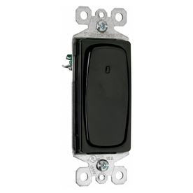 Pass & Seymour/Legrand 3-Way Black Light Switch
