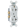 Pass & Seymour/Legrand 10-Pack 20-Amp 125-Volt White Duplex Outlet
