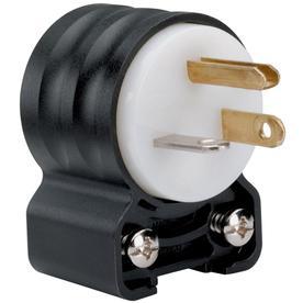 Legrand 20-Amp 125-Volt Black/White 3-Wire Grounding