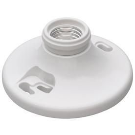 Legrand 660-Watt White Ceiling Socket