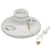Pass & Seymour/Legrand 250-Watt White Ceiling Socket