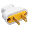 Pass & Seymour/Legrand 15-Amp 125-Volt white 2 wire plug