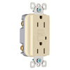 Pass & Seymour/Legrand 125-Volt 15-Amp Ivory Decorator GFCI Electrical Outlet