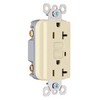 Pass & Seymour/Legrand 125-Volt 20-Amp Ivory Decorator GFCI Electrical Outlet