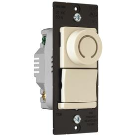 Pass & Seymour/Legrand 700-Amp Light Almond Rotary Dimmer