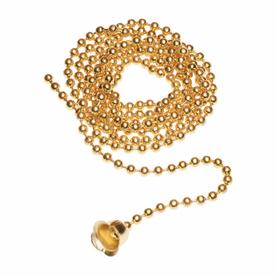 Pass & Seymour/Legrand Brass Pull Chain
