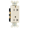 Pass & Seymour/Legrand 20-Amp 125-Volt Light Almond Duplex Outlet