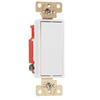 Pass & Seymour/Legrand 20-Amp White 3-Way Decorator Light Switch