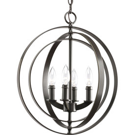 Thomasville Lighting Equinox 4-Light Antique Bronze Chandelier