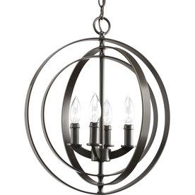 Thomasville Lighting Equinox 4-Light Antique Bronze Chandelier