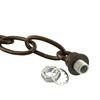 Progress Lighting 0.8-ft Copper Bronze Lighting Chain
